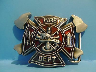 Beautiful Firefighter belt buckle Free Shipping in USA