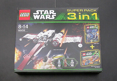 Lego Star Wars 66456 Superpack include 75002, 75004 & 75012 new in box