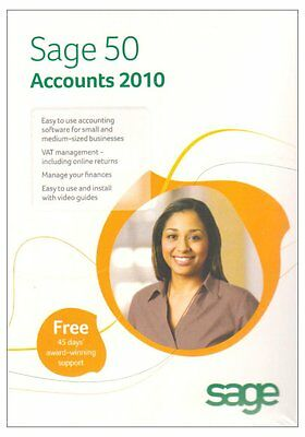 Sage 50 Accounts Version 16 2010 1 Company (Pc) Business Accounting Software