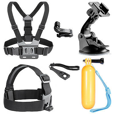 6-In-1 Outdoor Sports Accessories Kit for GoPro Hero 4 3+ 3 2 1