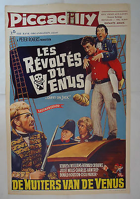 CARRY ON JACK/ /belgian poster