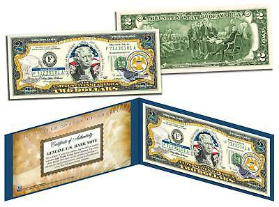 MISSISSIPPI $2 Statehood MS State Two-Dollar U.S. Bill *Legal Tender* with Folio