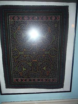 Shipibo Peru Amazon Indian Small Embroidered Cloth #10