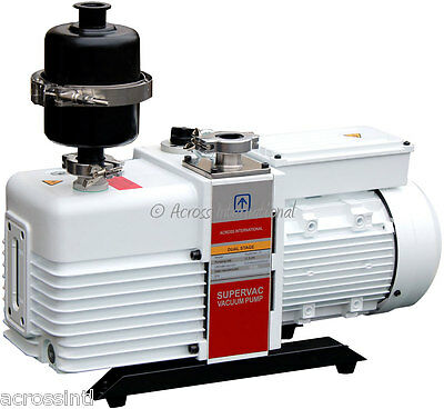 Ai UL/CSA Certified SuperVac 11cfm 0.3micron Chemical-Resist Vacuum Pump 115V