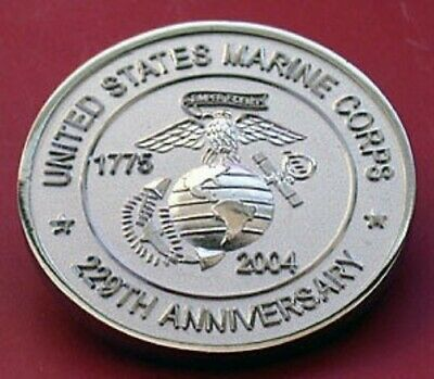 Marine Corps 2004 Collector  Mistake Coin!