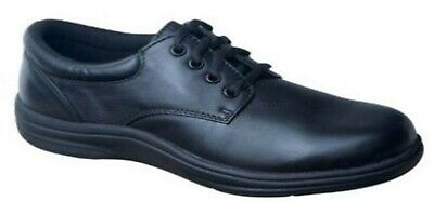 Instride Malibu Navy Lace Leather Womens Shoes Orthopedic Diabetic New Comfort
