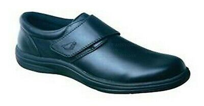 Instride Venice Strap Leather Navy Womens Shoes Orthopedic Diabetic New