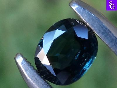 "Australian Natural Faceted Blue 0.81 ct Sapphire ""Stunning_Gemstones"""