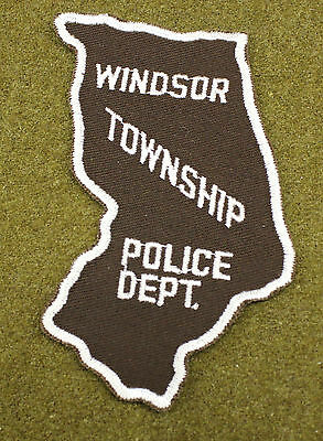 32539) Patch Windsor Township Illinois Sheriff Police Department Law Enforcement