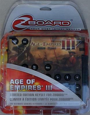 Steelseries / ideazon zboard age of conan limited ed gaming keyset.