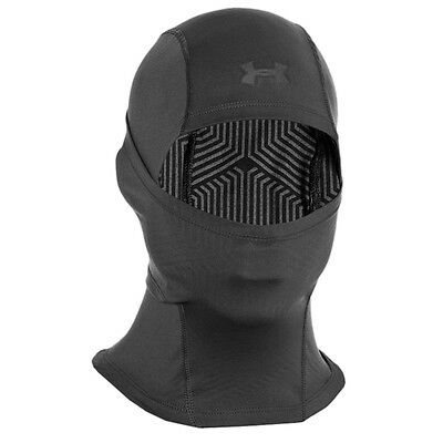 Under Armour Tactical ColdGear Infrared Police Bike Thermal Hood Balaclava Black