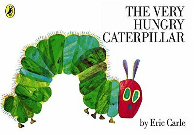 The Very Hungry Caterpillar by Eric Carle New Paperback Book