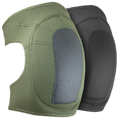 Bulldog Tactical Military Army Airsoft Neoprene Soft Protective Safety Knee Pads