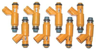 Set of 8 BRAND NEW OEM Land Rover Fuel Injectors, 2005-09, 4.4 L V8 (non S/C)
