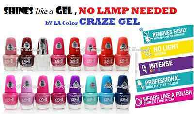 16 PCS L.A.COLORS Nail polish Extreme Shine Gel Nail Polish No UV ...