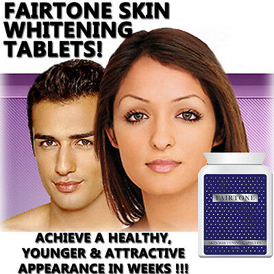 Fairtone Whitening Pills Tablets Whiter Glowing Skin Super Strong Results