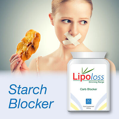 Lipoloss Carb Blocker Pills Extreme Weight Loss Lose Body Fat Strong Diet Pill