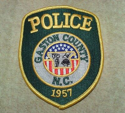 NC Gaston County North Carolina Police Patch