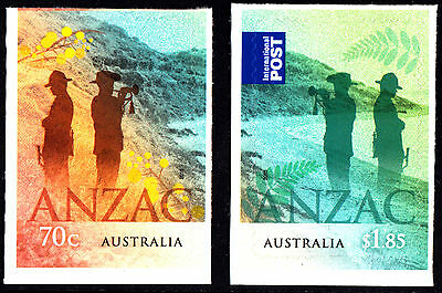 Australia 2015 ANZAC: Australia - NZ Joint Issue Set of Stamps S/A, MNH Ex Bookl