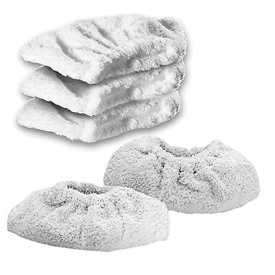 KARCHER K1102 Steam Cleaner Terry Cloth Cover Pads Hand Tool Cleaning Pad x 5