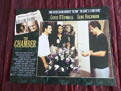 The Chamber- Chris O'donnell - Usa Lobby Card - 11X14  - #4