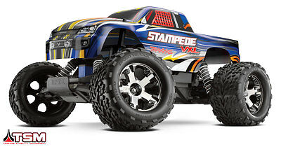 Traxxas Stampede VXL Brushless Electric 2.4Ghz RTR 2WD Truck w/ TSM TRA360764