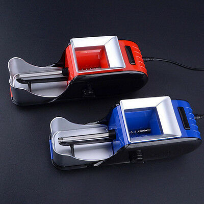 Automatic Electric Cigarette Rolling Machine DIY Maker Tobacco Roller Injector