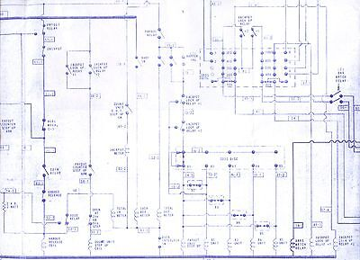BALLY SLOT MACHINE Schematic Wiring Diagrams '64-'80 Electro-Mechanical