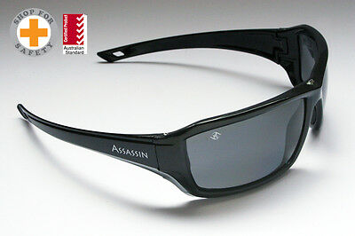 Assassin Polarised Safety Glasses - Medium Impact - by Bandit III