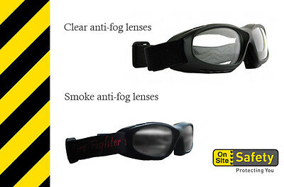 Fire fighter - Fire and Heat resistant Safety Googles by On Site Safety