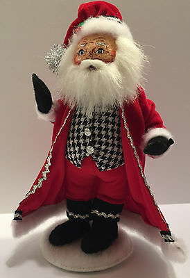 2014 Annalee Classy Santa 9 Inches Christmas Santa Claus Figure New with Tags