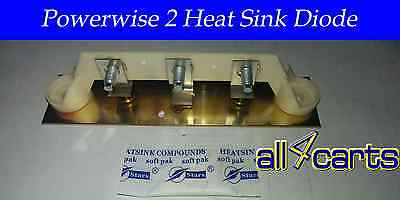 Ezgo Powerwise 2 Golf Cart Charger Lester Heat Sink Assembly | Repair | Fix