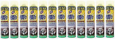Pack Of 12 - Xanto Whoops Pet Stain & Odour Remover Mousse Carpet Fabric Cleaner