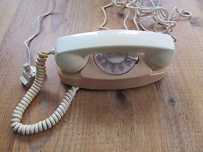 Western Electric Rotary Princess Phone for parts or repair