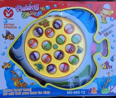 Fishing Game Kids Toy with Music Party Game Educational Safe Toy Party Favor