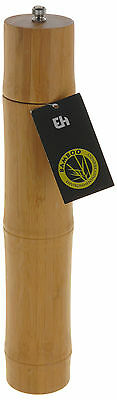 Large Bamboo Wooden Pepper Mill Salt Grinder Professional Pepper Mill 31cm