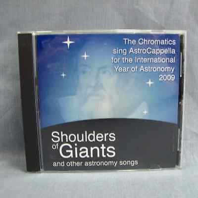 Shoulders of Giants and Other Astronomy Songs cd Chromatics Vocal Band Acappella