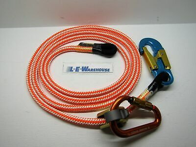 Arborist Climbing Climb Right 1/2 X 10Ft One Eye Lanyard Kit Non Metal 75742