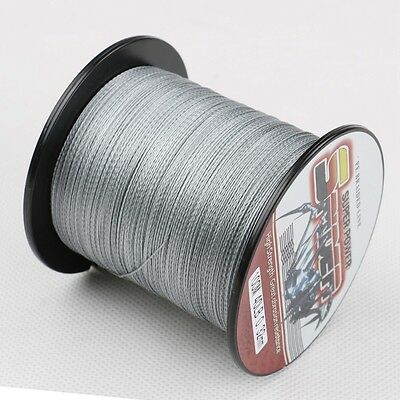Spectra Braided Fishing Line 100M~1500M  6-300LB 100%PE Dyneema Black White Gray