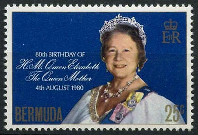 Bermuda 1980 Queen Mothers 80th Birthday MNH #R729