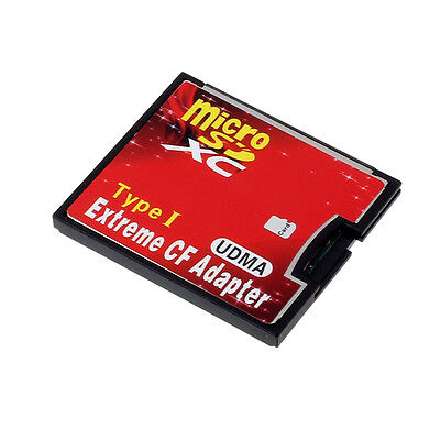 Micro SD TF SDHC To Type I 1 Compact Flash Card CF Reader Adapter UDMA Free P&P