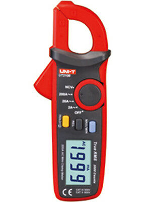 UT210B True RMS 200A AC Current Clamp Meter Ammeter NCV Test 2000 Counts UT-210B
