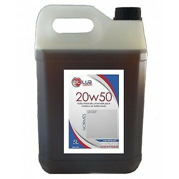 HUILE MINERALE SAE 20W50 5 litres