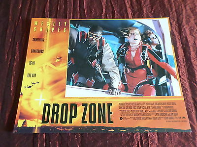 DROP ZONE - WESLEY SNIPES- YANCY BUTLER - USA LOBBY CARD- 11x14 -#2