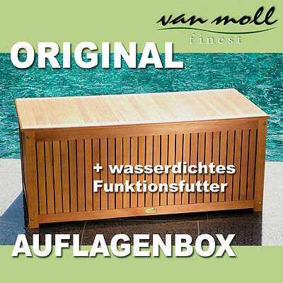 auflagenbox kissenbox aus fsc eukalyptus ge lt mit lamellen. Black Bedroom Furniture Sets. Home Design Ideas