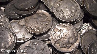 (10) Indian Head Buffalo Nickel US Coin Lot Set ~ FULL DATES ~ NO REPEAT DATES!