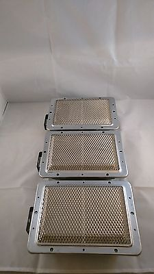 X3 Doner Kebab Machine Burners with Mesh. Fits Archway & Most Kebab Machines