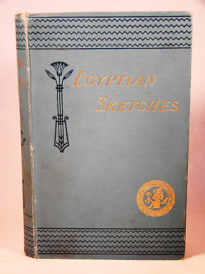 Jeremiah Lynch.  Egyptian Sketches.  1890 16 Plates Ancient Egypt