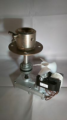 Doner Kebab Machine Motor Complete with Rubber/Coupling & Plummers Block