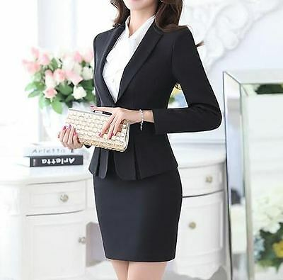 bbdc5d3fcf TAILLEUR COMPLETO DONNA nero giacca manica lunga , gonna cod 7016